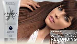 X-tenso - prostowanie włosów