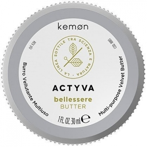 Kemon ACTYVA Bellessere,  butter aksamitne masło do ciała  30ml