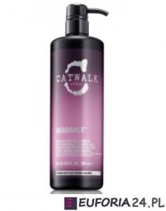 Tigi Catwalk Headshot, rekonstruujący szampon do włosów zniszczonych zabiegami, 750ml