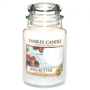 Yankee Candle świeca  Large Jar Shea Butter 623g