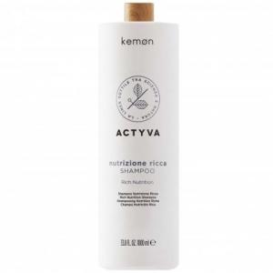 Kemon ACTYVA Nutrizione Ricca szampon  nawilżający 1000ml