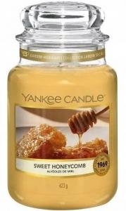 Yankee Candle świeca Large Jar Sweet Honeycomb 623g