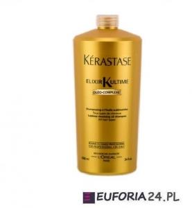 Kerastase Bain Elixir Ultime,0leo-Complexe, luksusowy szampon z olejkami, 1000ml
