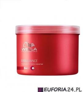 Wella Brilliance maska do włosów farbowanych, cienkich i normalnych, 500ml
