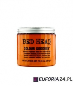 Tigi Bed Head Colour Goddess maska termiczna dla brunetek 580g