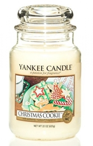 Yankee Candle świeca Classic Large Jar christmas cookie 623g