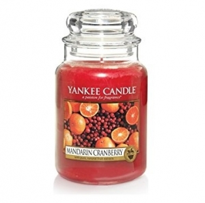 Yankee Candle świeca Classic Large Jar Mandarin Cranberry 623g