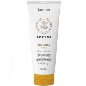Kemon ACTYVA Disciplina, maska wygładzająca do  włosów puszących się  200ml