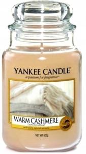 Yankee Candle świeca Large Jar Warm Cashmere 623g