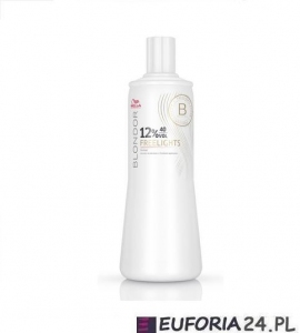 Wella Blondor Freelights, kremowa emulsja do pasemek 6% 9% 12% , oksydant, 1000ml