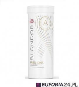Wella Blondor Freelights, rozjaśniacz w pudrze do pasemek, 400g