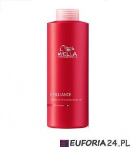 Wella Brilliance szampon do włosów farbowanych, cienkich i normalnych, 1000ml