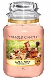 Yankee Candle świeca Large Jar Garden Picnic 623g
