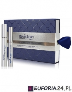 RevitaLash Lash Perfecting Gift Collection ZESTAW - Eyelash Conditioner 3.5ml + Volumizing Mascara 7.39ml