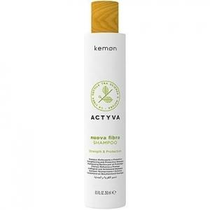Kemon ACTYVA Nuova Fibra szampon  odbudowujący włosy 250ml