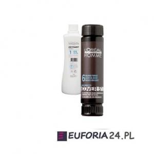 Loreal Homme Cover 5, farba do koloryzacji włosów dla mężczyzn, 1sztx50ml zestaw + oxydant 60ml