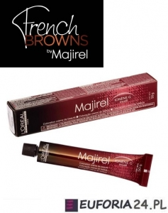 LOREAL MAJIREL FRENCH BROWN farba, kalibracja 3 refleksów w odcieniu 50ml