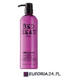 Tigi Bed Head Dumb Blonde, szampon do włosów blond i farbowanych, 750 ml