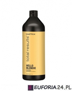 Matrix Total Results Hello Blondie, szampon, blond,z rumiankiem 1000ml