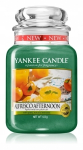 Yankee Candle świeca Large Jar Alfresco Afternoon 623g