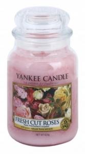Yankee Candle świeca Large Jar Fresh Cut Roses 623g