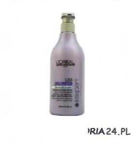 Loreal Liss Unlimited, szampon wygładzający przeciw puszeniu, 500ml