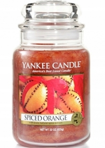 Yankee Candle świeca Large Jar Spiced Orange 623g