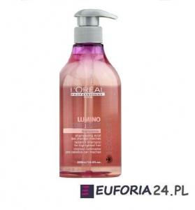 Loreal Lumino Contrast, szampon  do włosów z pasemkami, 500ml