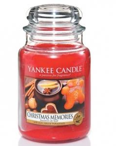 Yankee Candle świeca Classic Large Jar Christmas Memories 623g