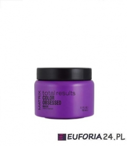 Matrix Total Results Color Obsessed, maska do włosów farbowanych, 150ml