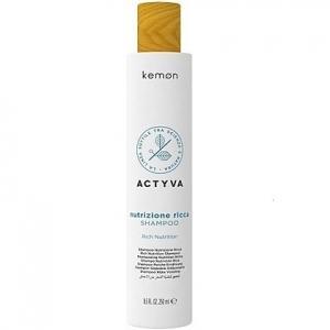 Kemon ACTYVA Nutrizione Ricca, szampon do  suchych włosów 250ml