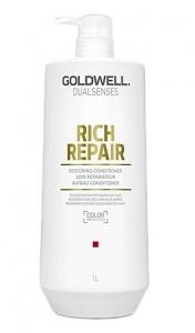 Goldwell DLS Rich Repair, odżywka do włosów zniszczonych , 1000ml