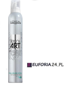 Loreal Tecni Art, Full Volume Extra, pianka nadająca extra objętości, 250ml utrw 5