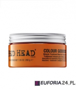 Tigi Bed Head Colour Goddess maska termiczna dla brunetek 200g