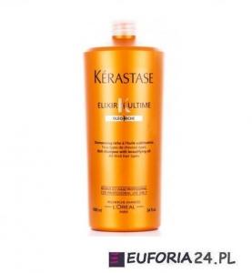 Kerastase Bain Elixir Ultime,0leo- Riche, luksusowy szampon z olejkami,suche ,grube 1000ml