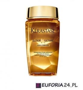 Kerastase Bain Elixir Ultime,0leo-Complexe, luksusowy szampon z olejkami, 250ml