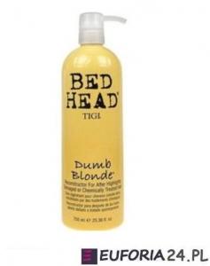 Tigi Bed Head Dumb Blonde, rekonstruktor do zniszczonych włosów, 750 ml