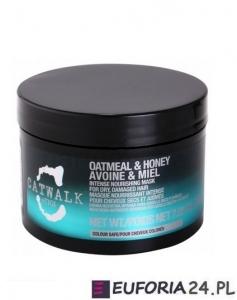 Tigi Catwalk Oatmeal&Honey, maska głęboko nawilżająca, 580 ml