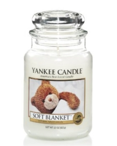 Yankee świeca Candle Classic Large Jar Soft Blanket Candle 623g