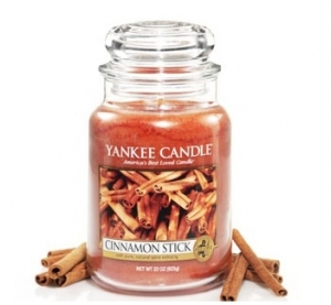 Yankee Candle świeca Classic Large Jar cinnamon stick 623g