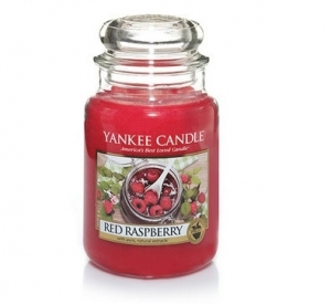 Yankee Candle świeca Classic Large red raspberrys 623g