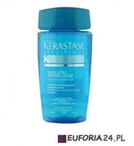 Kerastase  Bain Vital Dermo Calm, szampon, wzbogacona kąpiel kojąca, wrażliwa skóra głowy, 250ml