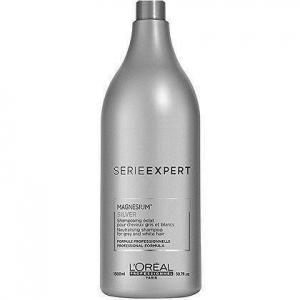 Loreal Silver, szampon do włosów mocno rozjaśnionych lub siwych, 1500ml