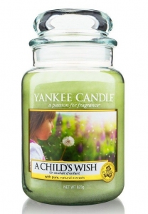 Yankee Candle świeca Classic Large Jar A Childs Wish 623g