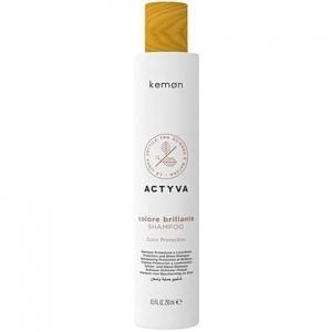 Kemon ACTYVA Colore Brillante, szampon do  farbowanych włosów 250ml