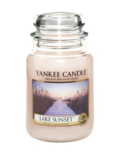 Yankee Candle  świeca Classic Large Jar Lake Sunset Candle 623g