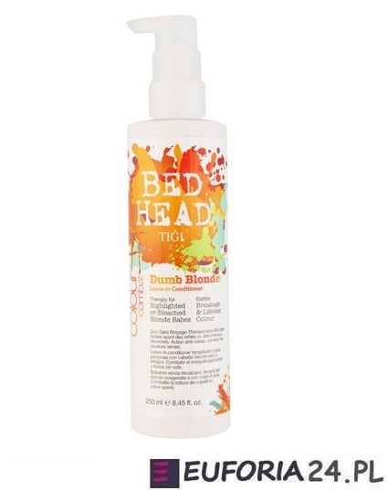 Tigi Bed Head Dumb Blonde, Leave In Conditioner odżywka do włosów jasnych i farbowanych 250ml