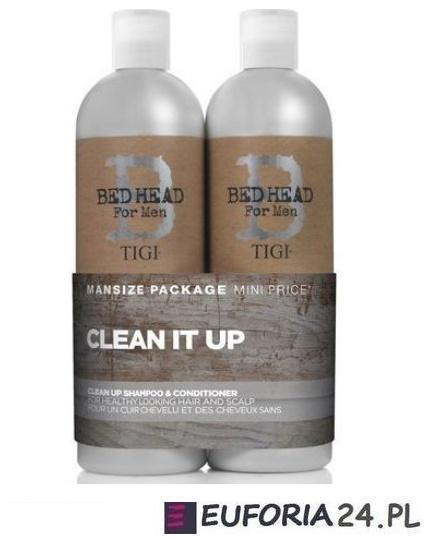 Tigi Tween Duos BH Clean Up szampon + odżywka 2x750ml